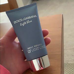NEVER USED Dolce & Gabbana light blue after shave